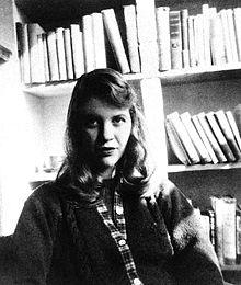 Mylène Farmer apprécie Sylvia Plath dans Mylène et les AUTEURS 220px-sylvia_plath
