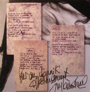 Mylène, encore et encore des Remixe dans Mylène en CONFIDENCES autographes_ptitgenie_07-296x300