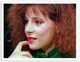 Mylène et Dechavanne dans Mylène 1987 - 1988 mylene-1