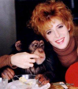 Paroles de Monkey Me de Mylène F. dans Les Chansons de Mylène singe-264x300