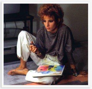La Une est à Vous Mylène dans Mylène en INTERVIEW myl7ne-1986-13-300x291