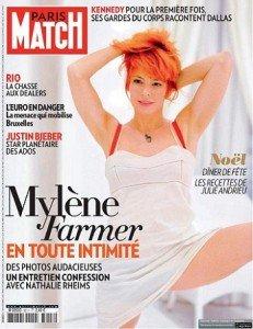 N° 3211 avec MYLENE dans Mylène dans la PRESSE match-231x300